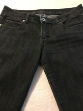 Guess Marina Black Skinny Jeans Women's Distressed Stretch Size 30 X 31