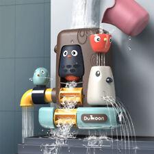 Badespielzeug Set für Baby Kinder, Multifunktionales Badewannenspielzeug Haus