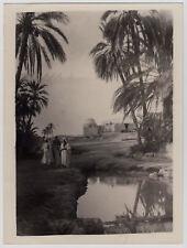 "Lehnert & Landrock OASE / OASIS * 50s Print b Lambelet Cairo of 20s Negative ""L"""