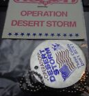 """NOS Original """"SUPPORT OUR TROOPS IN OPERATION DESERT STORM"""" Medal Token On Chain"""