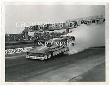 Kenny Bernstein Budweiser King Funny Car Drag Racing Vtg 1980 Press Photo