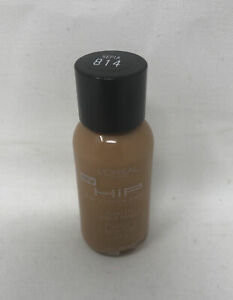 L'oreal HIP High Intensity Pigments Flawless Liquid Makeup 814 Sepia