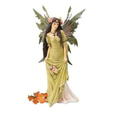 Enchanting Forest Pixie Green Fairy Figurine Magical Realm Faerie Statue