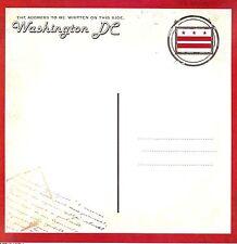 Scrapbook Customs - Vintage Washington Dc Postcard Scrapbooking Paper - 36319
