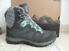 Salomon Boots Ellipse Winter GTX Boots Ankle Boots Grey Leather 398550 New