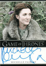 Game of Thrones Season One, Michelle Fairley 'Lady Stark' Autograph Card