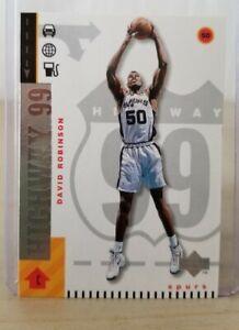 David ROBINSON 1998-99 Upper Deck Highway 99 #294 / Spurs / Mint