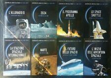 L'avventura dell'uomo dalla Luna a Marte vol. 1-2-3-4-5-6-7-8 le Scienze 2019
