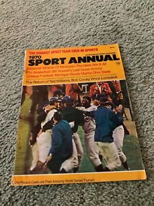 1970 Sports Annual Magazine The Amazing Mets New York Mets Baseball Cover
