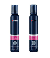 Indola Color Mousse 200ml - Anthracite x2