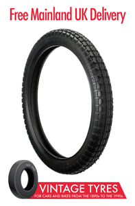 Ensign 350S19 Universal Motorcycle Tyre 350-19 3.50-19 Triumph T100 T110 tyre