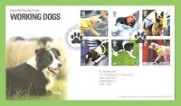 G.B. 2008 Working Dogs set Royal Mail First Day Cover Tallents House