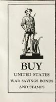 1942 Government Print Ad Buy United States War Savings Bonds & Stamps