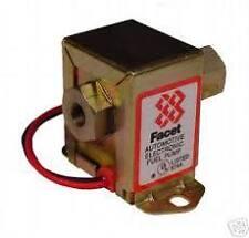 Sfaccettatura stato solido 12V Elettrico Pompa Combustibile Brisca / AUTOCROSS 4.0-7.0 PSI NEG Earth