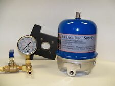 108 GPH CENTRIFUGE w/BRACKET, BRASS, and GAUGE for WVO /OIL and BIODIESEL