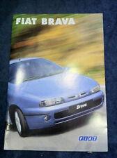 Fiat Brava Sales Brochure - Mint - 31 Pages