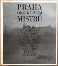 Praha Objektivem Mistru. Panorama, 1981. E.O. Jaromir Funke, Josef Sudek...