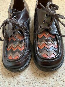 True Vintage 70's Norwegian Style Skinhead Suedehead Shoes