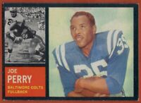 1962 Topps #4 Joe Perry VG-VGEX+ Baltimore Colts Hall of Fame FREE SHIPPING