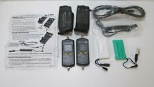 Digisat II Perfect 10 Satellite Meter Lot of 2 With Batteries Cases Car Charger