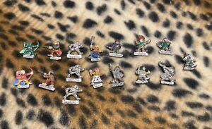 Citadel Miniatures C Series Halflings, mixed group