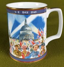 More details for x905 commemorative tankard - ve day 50th anniversary by royal doulton