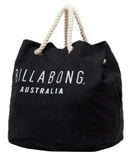 Tag Billabong Revolve Large Market Beach Gym Travel Bag Handbag Black