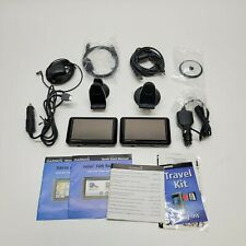 Garmin Nuvi 750 & 760 Bundle With Cables, Stands, Manuals, & Accessories