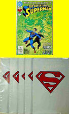 DC Comics Superman 500 Bagged Comic Deluxe 5 Lot + Bonus Book New from 1993