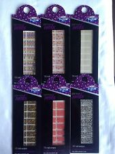 Glamour 16 nail wraps in mins fast, safe & simple Choose 6 Different Design BNIP