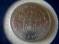 KANADA CANADA 1 DOLLAR 1971 British Columbia Nickel unc