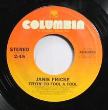 Country 45 Janie Fricke - Tryin' To Fool A Fool / He'S A Heartache (Looking For