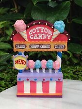 Miniature Dollhouse FAIRY GARDEN ~ Candy CARNIVAL Cotton Candy Stand