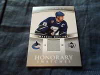 2006-07 U.D. Trilogy Honorary Swatches Markus Naslund #HS-MN