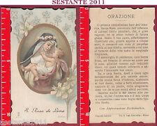 3238 SANTINO HOLY CARD S. SANTA ROSA DE DA LIMA SANTA LEGA EUCARISTICA 9103 SLE