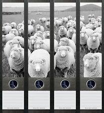 Ordnerrücken Schaf Schafe Ordner Ordneraufkleber Aufkleber Deko 049