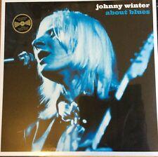 JOHNNY WINTER - ABOUT BLUES 180G VIRGIN VINYL LP NEW MINT SEALED