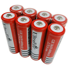 8 X 3.7V 18650 Li-ion 6800mAh Rechargeable Battery for Flashlight Torch