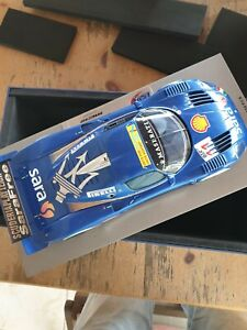 2007 Maserati MC12 Course Voiture #11 Fia Gt BBR 1:18 Limité Rare