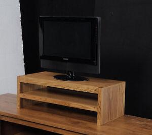 "26"" TV Riser Stand in Modern Style Oak Wood"