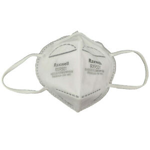 Raxwell KN95 RX9501 Respirator Face Mask CDC Approved & Whitelisted, BFE 99%