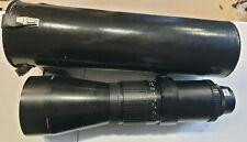 Prakticar 5,6 500mm MC Pentacon Objektiv Pentacon Six mit Canon Adap.