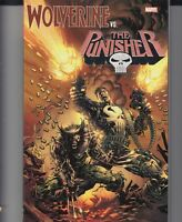 WOLVERINE VS. THE PUNISHER TPB Marvel Comics Frank Castle Logan TP