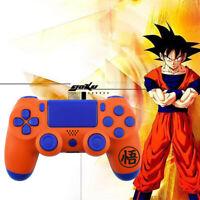Dragon Ball Goku Full Custom PS4 Slim Pro Controller Shell Case Housing Buttons