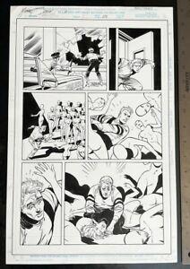 SPIDER-MAN REDEMPTION #1 1996 MIKE ZECK ORIGINAL ART SIGNED