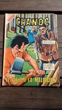 """VINTAGE 1971 MEXICAN COMIC CHANOC # 643 """"EL VIEJO Y LA MALDICION"""" ED. HERRERIAS"""