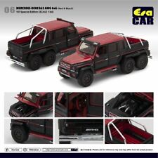 ERA Car 1:64 2019 Release Black & Red 2013 2014 2015 MERCEDES-BENZ G63 AMG 6X6