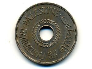 Palestine:KM-5, 20 Mils, 1941 * RARE Date * AU *