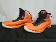 Under Armour Men's Orange Basketball Shoes. Size 10. Preowned. 811.