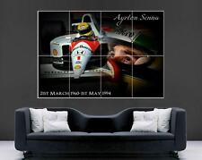 Ayrton Senna Marlboro Giant Tribute Poster Print